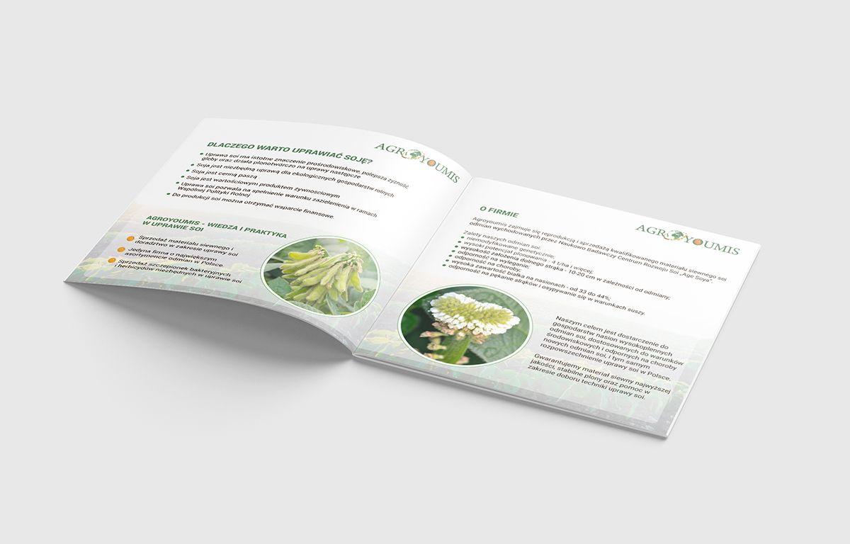 Agroyoumis | Rolnictwo - Projekt graficzny katalogu - Viatas