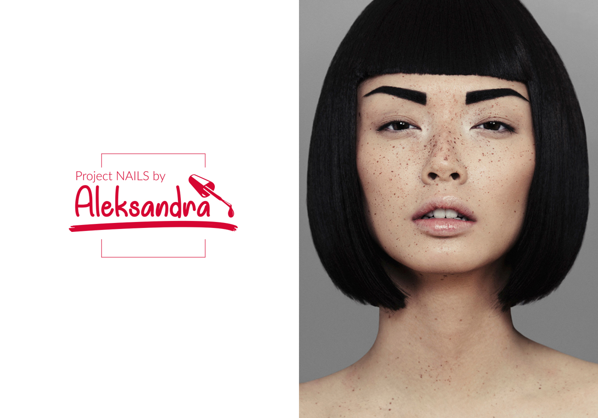 Project Nails by Aleksandra - Kreacja marki dla salonu urody - Viatas