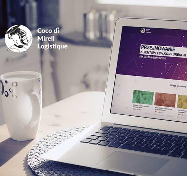 Coco di mirell Logistique - Zaprojektowanie strony www - szkolenia - Viatas Studio