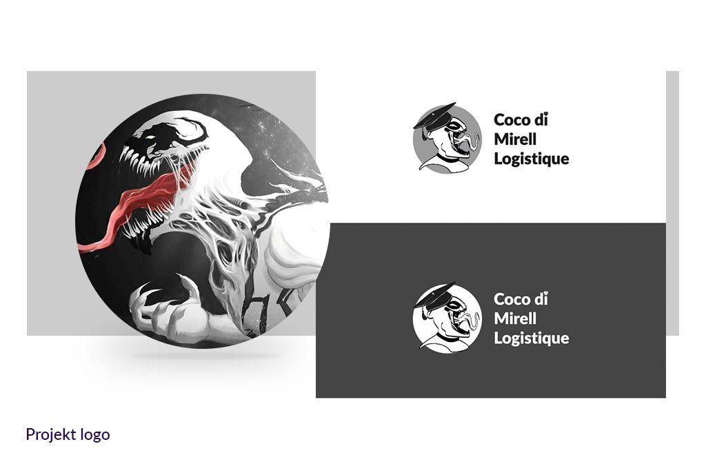 Coco di mirell Logistique - Projekt logotypu | Firma szkoleniowa - Viatas