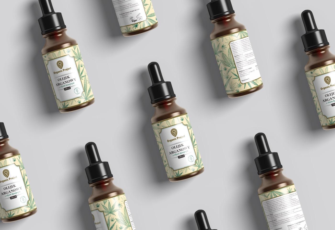 Organic Project - Efektowne opakowanie kosmetyków - VIATAS Design Studio
