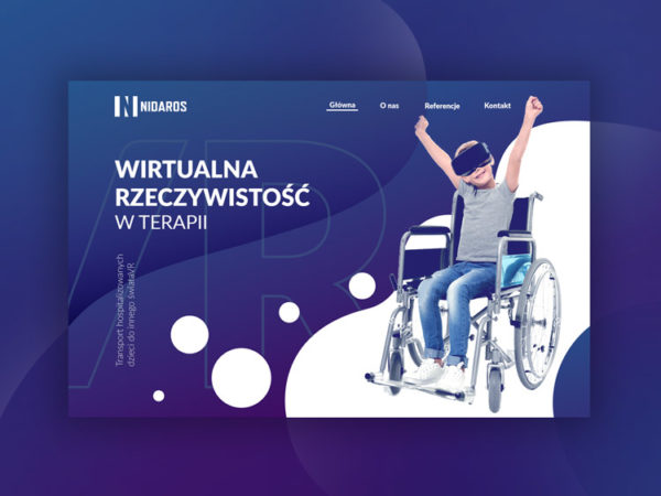 Nidaros - Projekt i budowa strony internetowej - Studio VIATAS