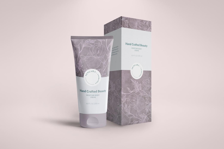 SENGARA - Projektowanie opakowań kosmetyków - VIATAS Design Studio